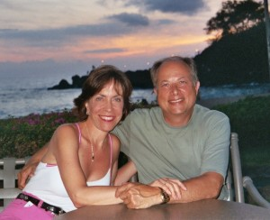 BOB and Barb at sunset - Copy