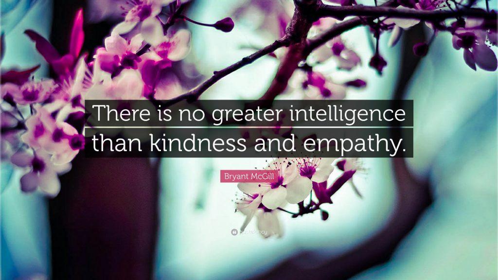 Kindess and Empathy